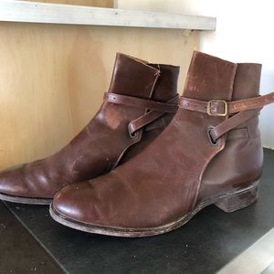 Vintage 1940s gorgeous leather boots